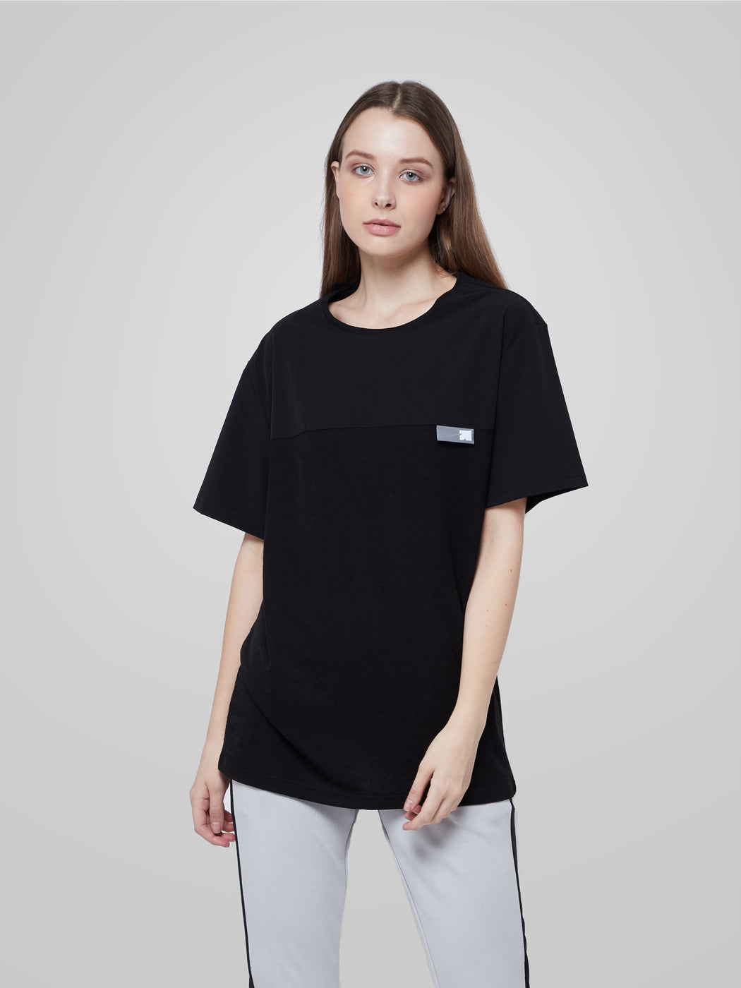 Unisex Ultimate Utilitarian Black Female T-shirt