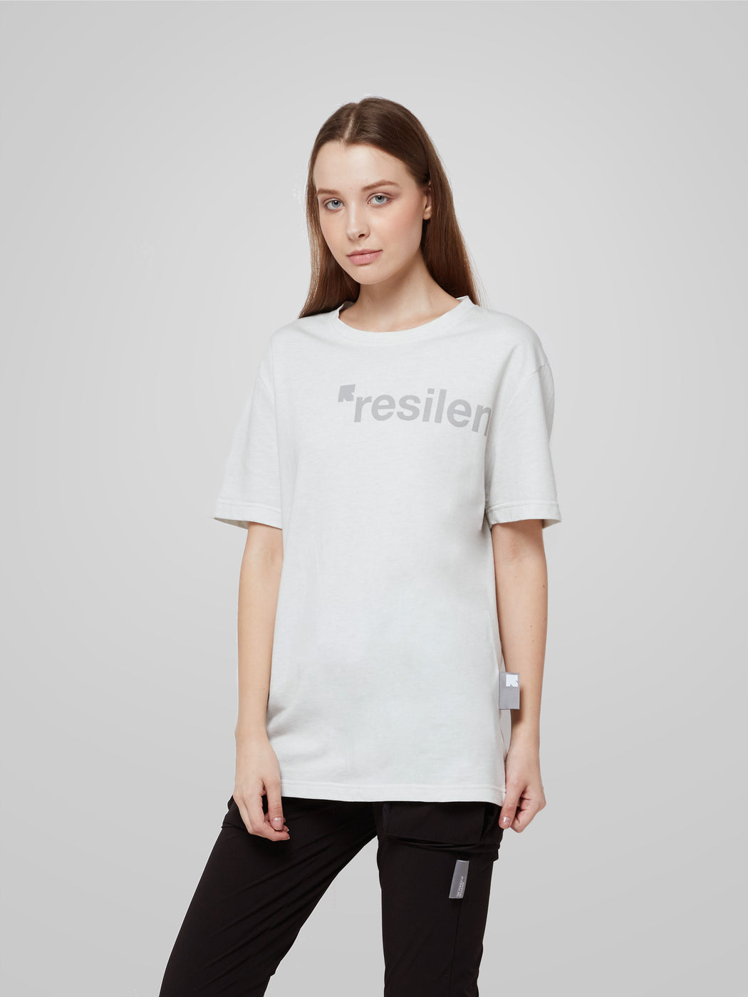 Unisex Science of Resilience White Female T-shirt