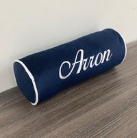 Personalised Bolster Cushion ( 6 Colours )