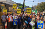 Brighton to London Coach for People's Vote March Saturday 19 October 2019