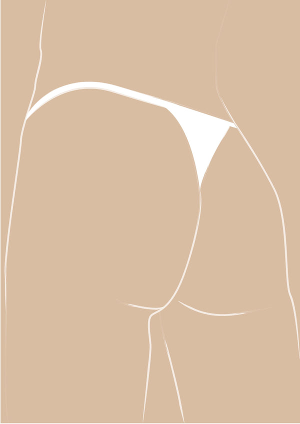 Nude Illustration - Nothing But A G-Thing
