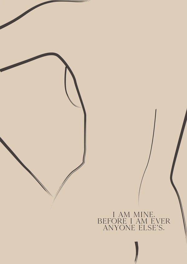 I AM MINE - Women's Aid Charity Prints