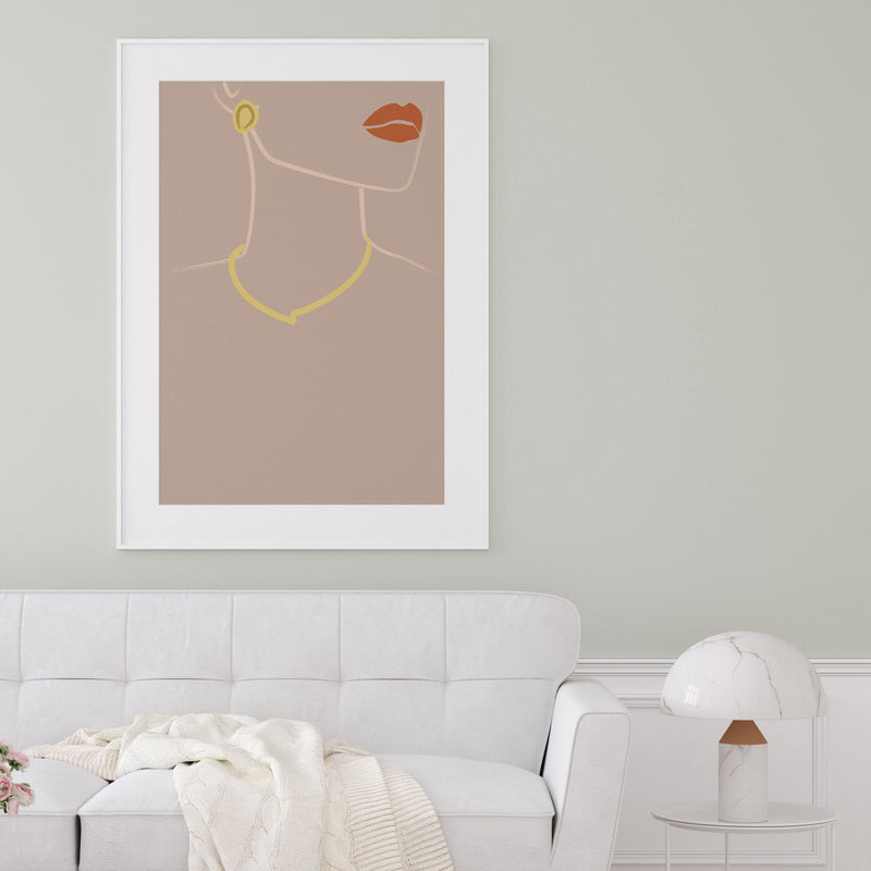 Wall Art Print - Lula Illustration Print