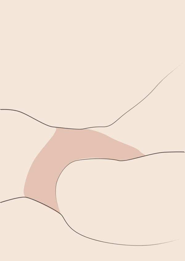 NETHERS - Erotic Art - Nude Line Drawing