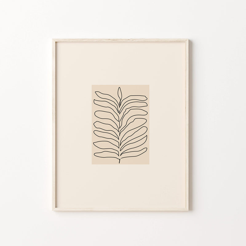 Wall Art Print - Organic Illustration Prin