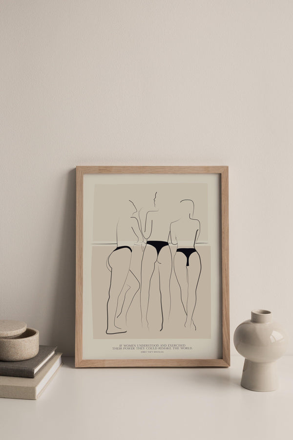 TRIO - Women's Aid Charity Prints