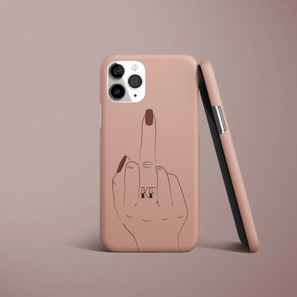 The Finger - Personalised iPhone Case