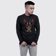 Bunny Tribal Art Men's Full Sleeves Tshirt
