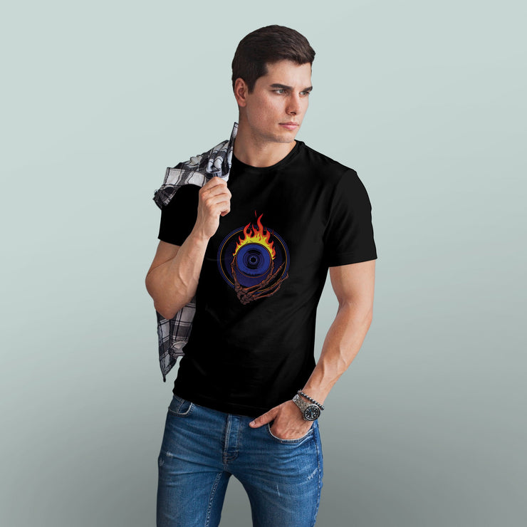 Flaming Eye Men's Tshirt