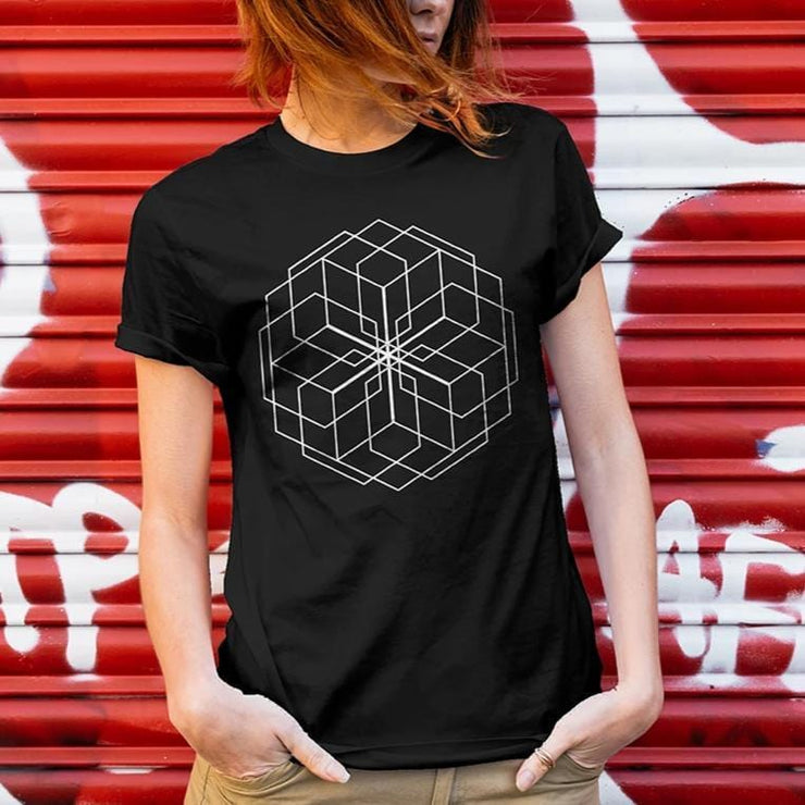 Hexagon Mandala Tshirt