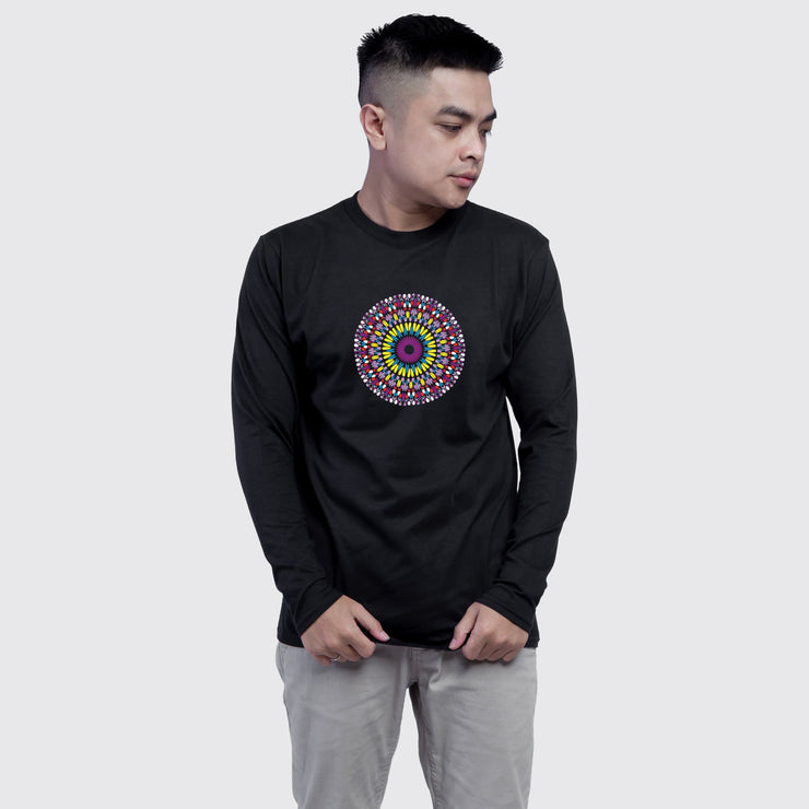Inner Eye Mandala Men's Full Sleeves Tshirt