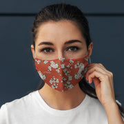 Peach Blossoms - 2 Layer Everyday Protective Masks