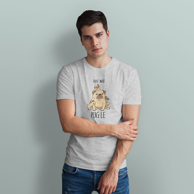 Has Mat Pug Le Men's Tshirt