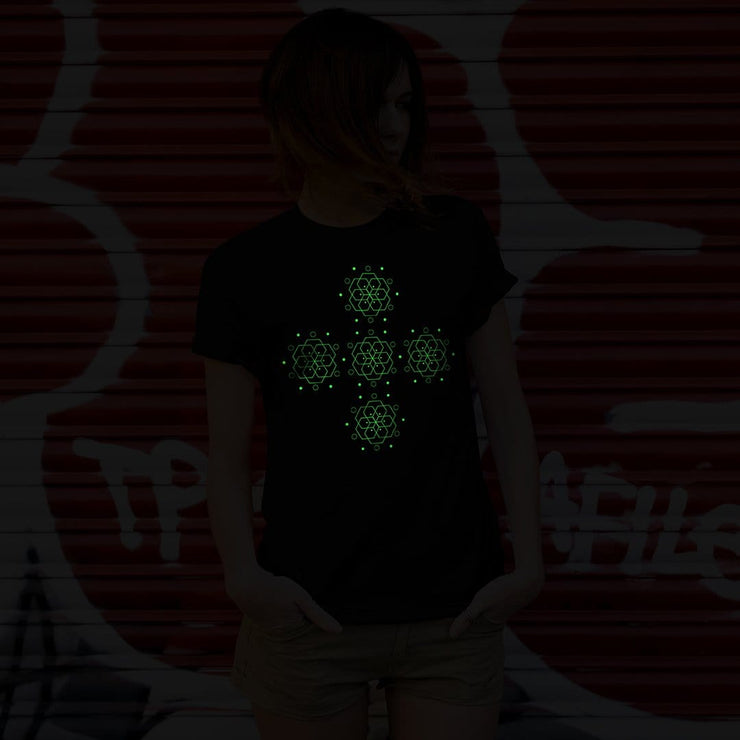 Sacred Art UV + Glow in the Dark Tshirt