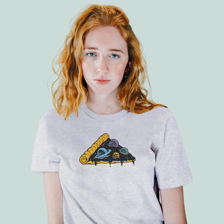Space Pizza Women's Tshirt