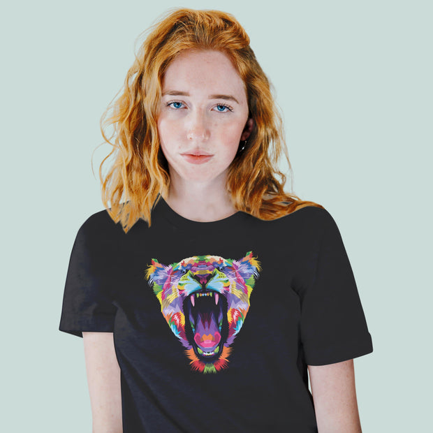 Kitty Roar Women's Tshirt