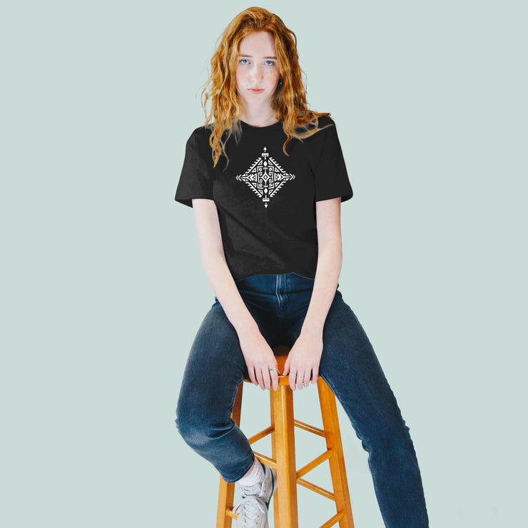 Monochrome Sacred Arrow Women's Tshirt