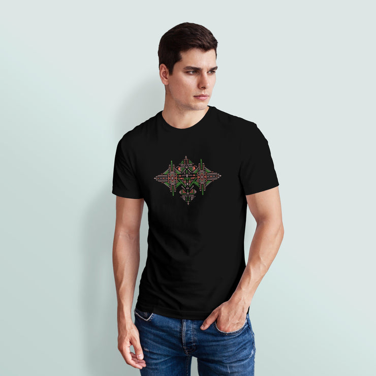 Earth Tribal Art Men's Tshirt