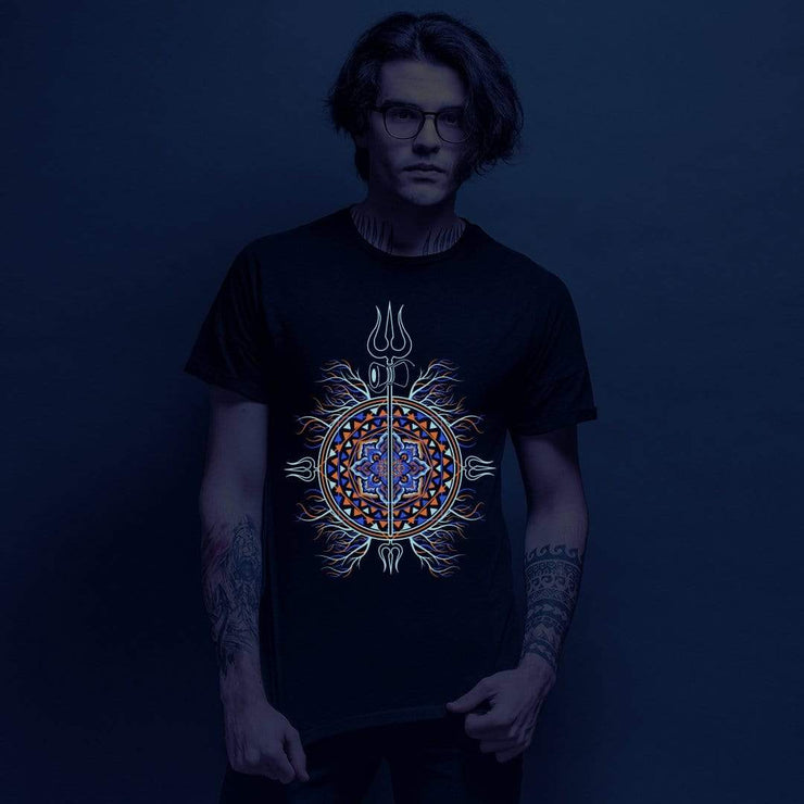 Bholenath Trishulla UV + Glow in the Dark Tshirt