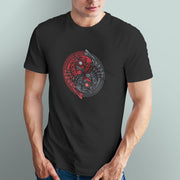 The Yin & Yang Owl Men's Tshirt