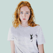 Kitty Fall Women's Tshirt