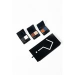 Whyshadow Pressed Eyeshadow Duo Compacts Full Set of Three Open With Box From Top