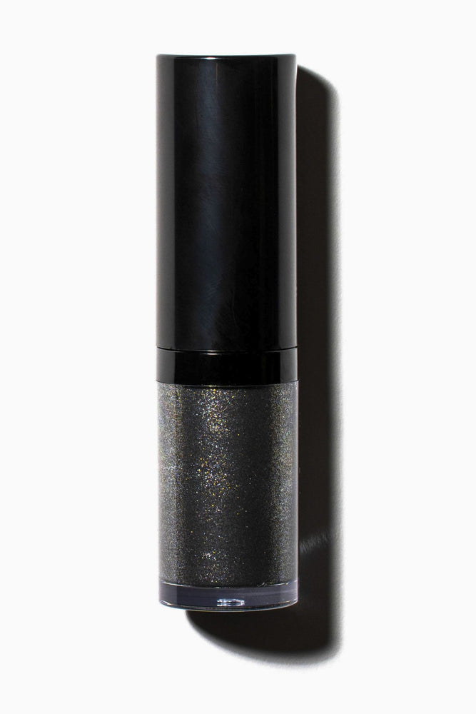 Why Eye Love You Liquid Eyeshadow Black Shimmer Flat