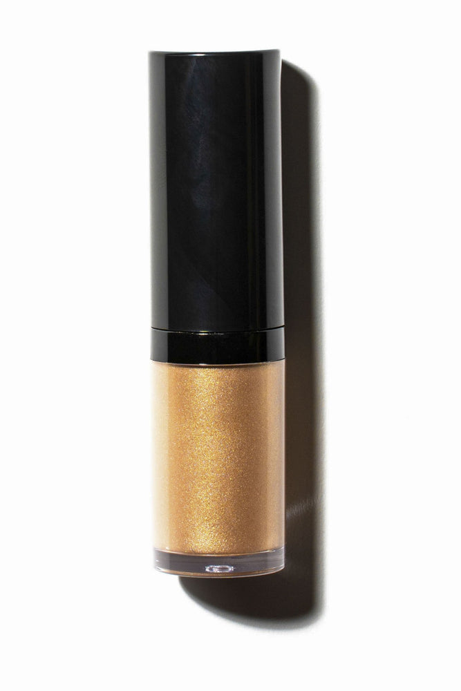 Why Eye Love You Liquid Eyeshadow and Highlighter Gold Shimmer Flat