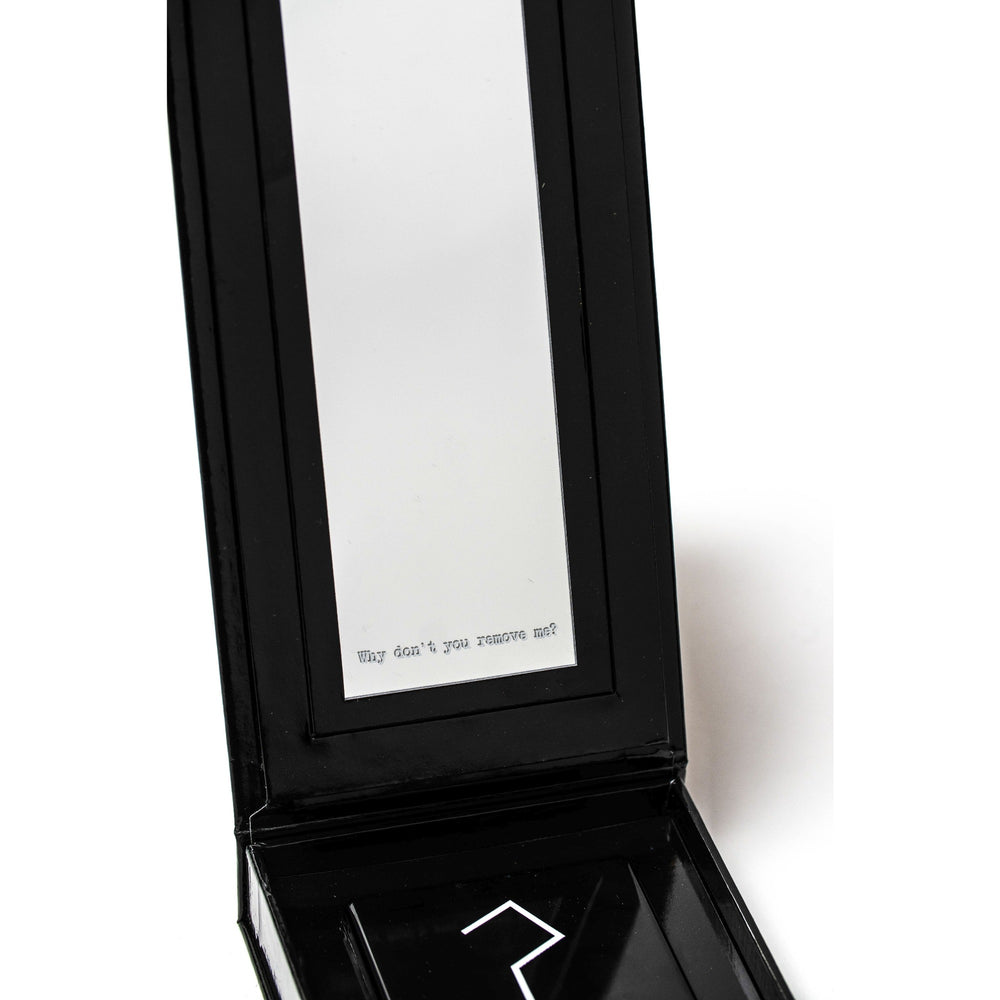 WHYSHADOW BOX W. REMOVABLE MIRROR