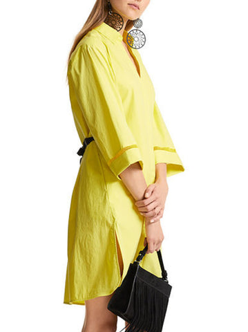 Yellow Day Dress By Marc Cain
