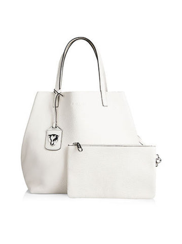Marc Cain White Tote Bag