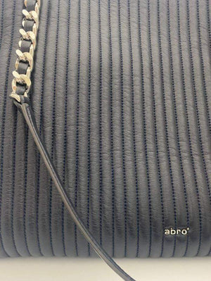 abro Handbags 1 Abro Black Silver Chain Tote Bag 028661-57 izzi-of-baslow