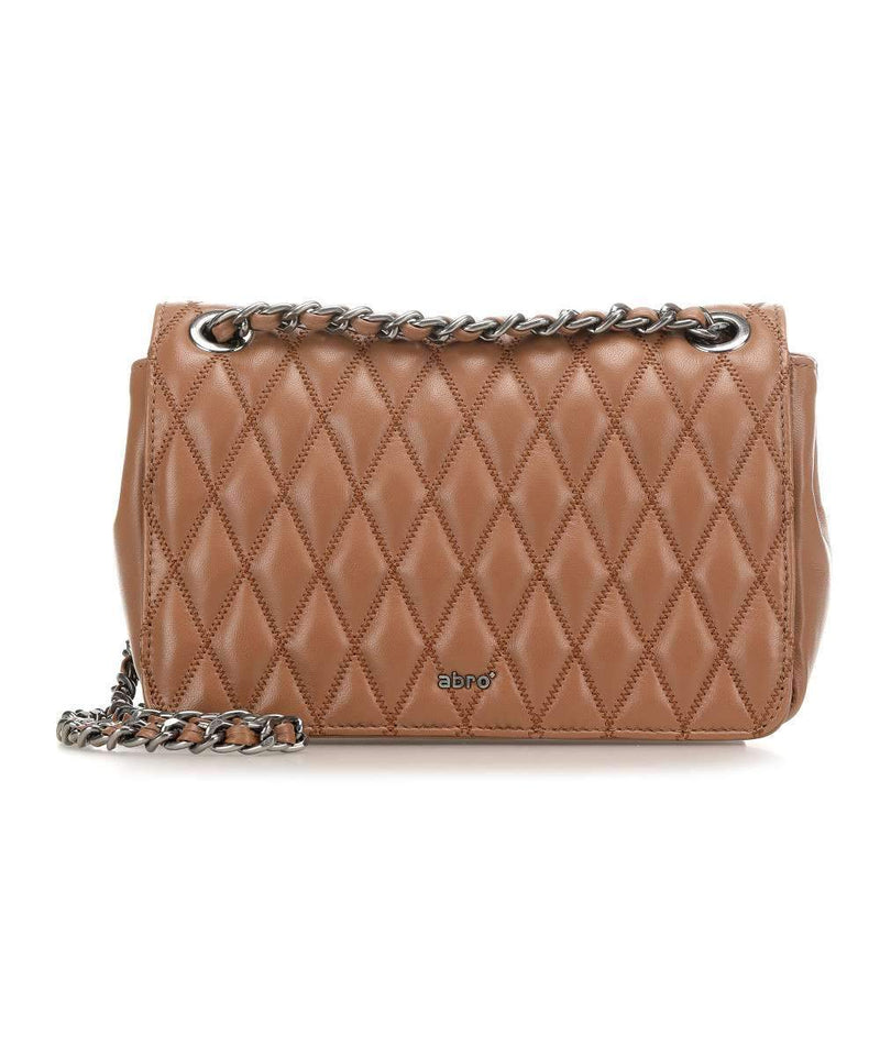 abro Handbags 1 Abro Camel/Tan Romby Quilted Bag 28935-57 izzi-of-baslow