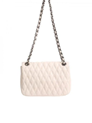 abro Handbags 1 Abro Ivory Romby Quilted Bag 28934-57 izzi-of-baslow