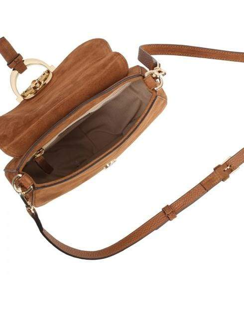 abro Handbags 1 Abro Tan Suede Cross Body Bag Temi 028978-33 izzi-of-baslow