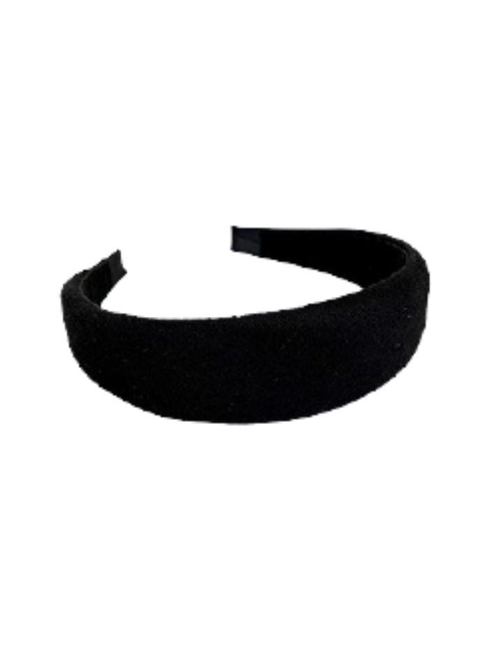 Black Colour Accessories One Size Black Colour Hair Band Black Savannah 2045 izzi-of-baslow