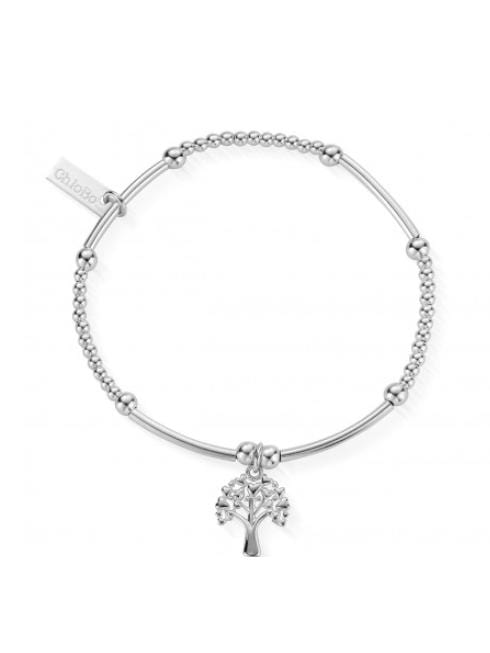 ChloBo Jewellery One Size Chlobo Cute Mini Star Heart Tree Of Life Silver Bracelet SBCM690 izzi-of-baslow