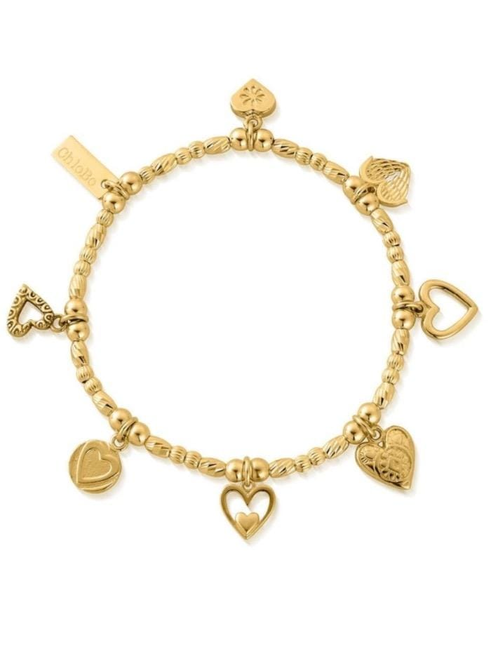 ChloBo Jewellery One Size Chlobo Gold Ideal Love Bracelet GBMULC7 izzi-of-baslow