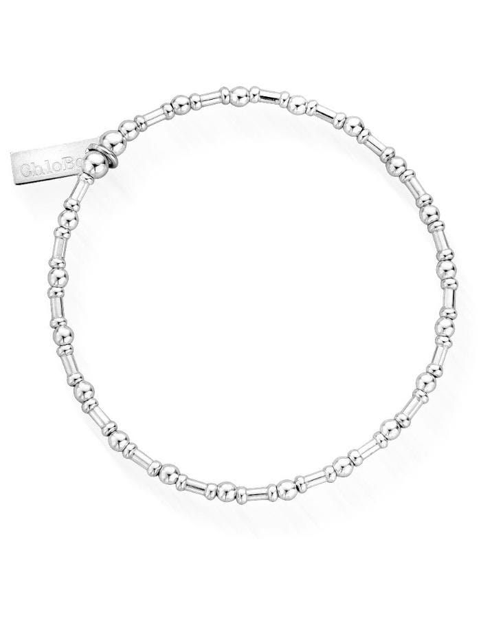 ChloBo Jewellery One Size ChloBo Silver Rhythm of Water Bracelet SBRHYTHM izzi-of-baslow