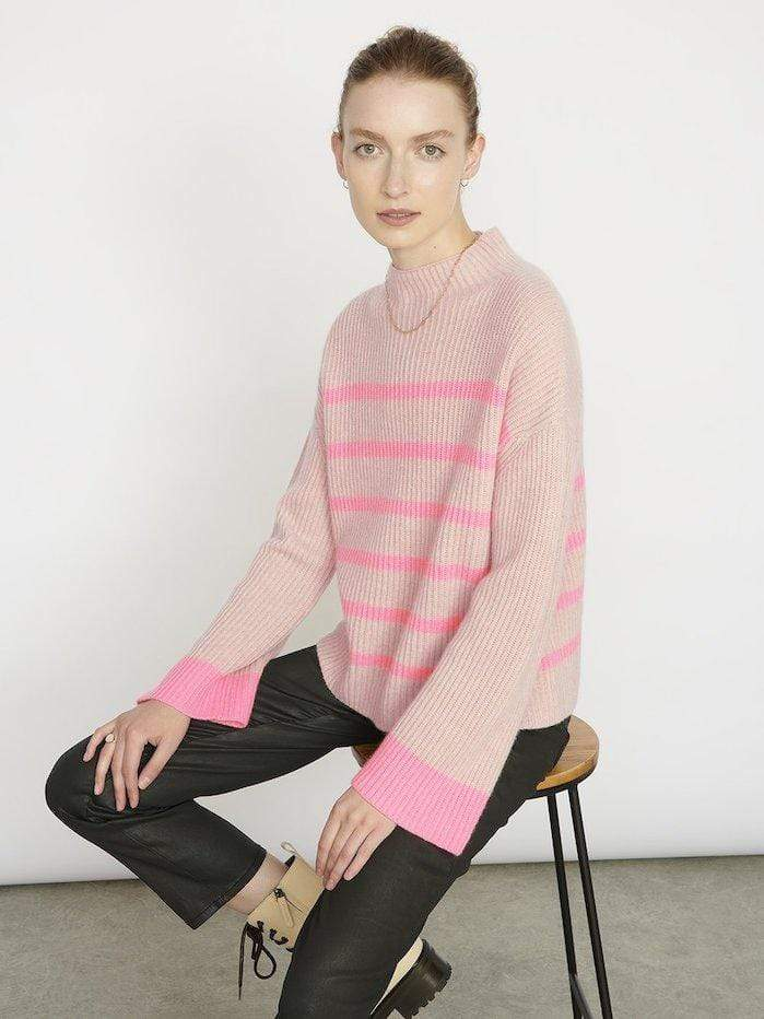 Cocoa Cashmere Knitwear Cocoa Cashmere Oatmeal Robyn Jumper CC3277 izzi-of-baslow