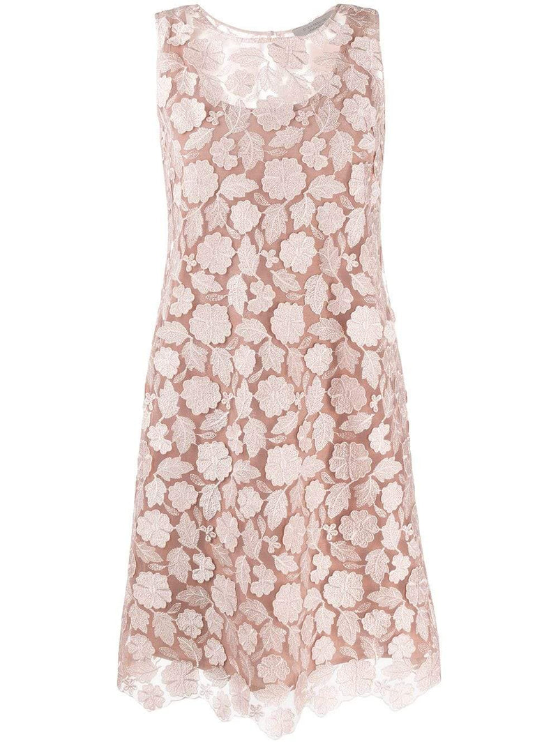 D.Exterior Dresses D.Exterior Lace Dress Rose Gold 50632 izzi-of-baslow