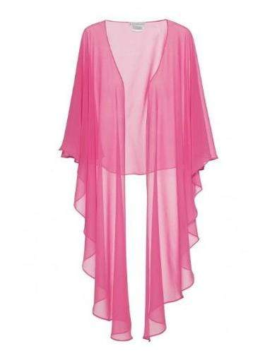 Gina Bacconi Accessories One Size Gina Bacconi Pink Long Shawl SCON99141 izzi-of-baslow