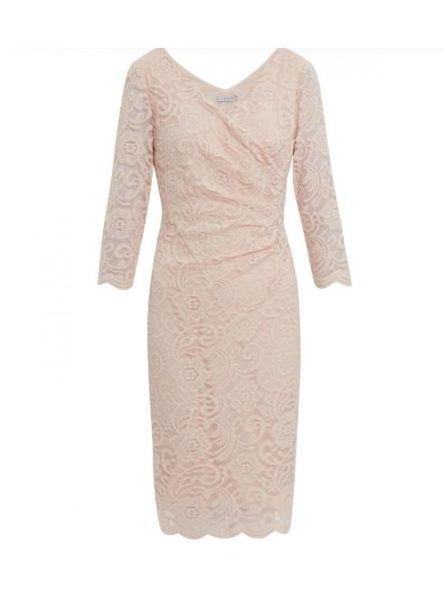 Gina Bacconi Dresses Gina Bacconi Clarinell Stretch Lace Dress SBZ5735 izzi-of-baslow