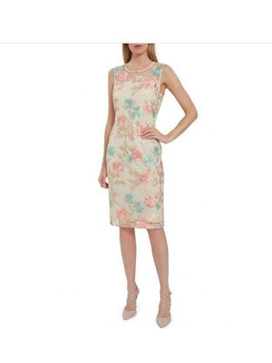 Gina Bacconi Dresses Gina Bacconi Maristella Embroided Dress STT2695 izzi-of-baslow