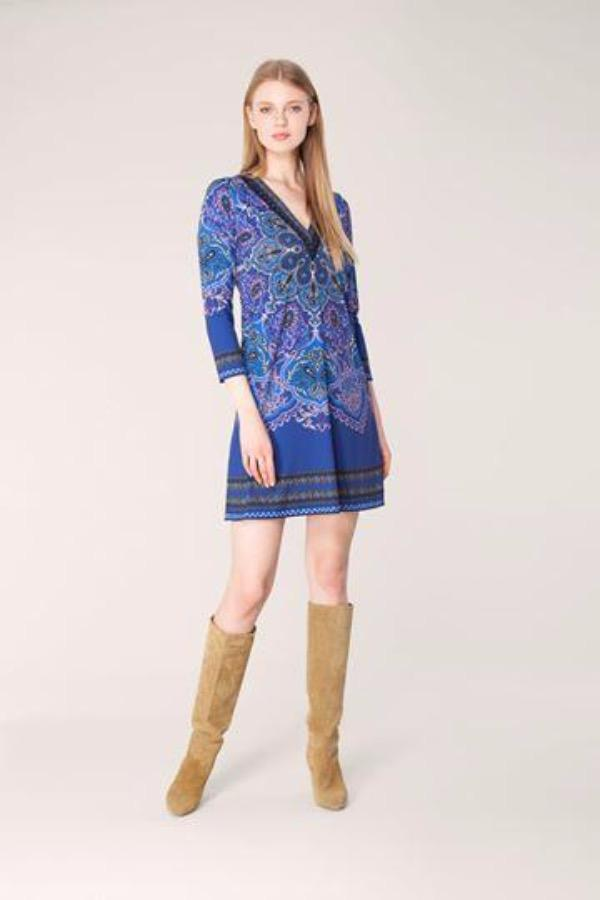 Hale Bob Dresses Hale Bob Jersey Dress 95PG6705 izzi-of-baslow