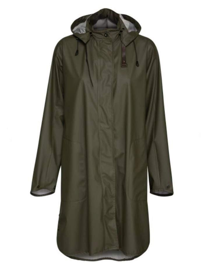Ilse Jacobsen Coats and Jackets Ilse Jacobsen Rain 71 Raincoat 410 Army izzi-of-baslow