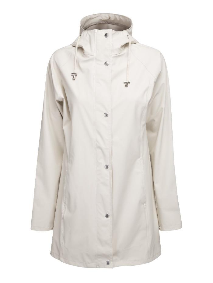 Ilse Jacobsen Coats and Jackets Ilse Jacobsen Rain87 Raincoat Milk Creme izzi-of-baslow