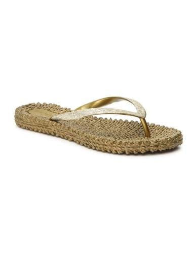 Ilse Jacobsen Shoes 8 Ilse Jacobsen Flip Flops With Glitter Cheerful 01 Gold izzi-of-baslow