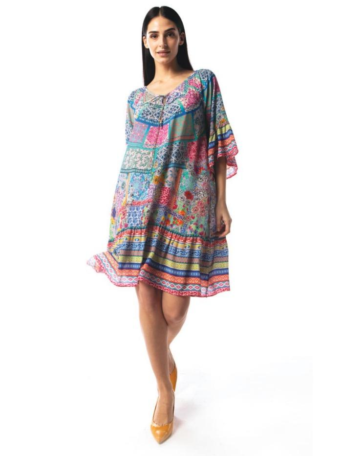 Inoa Tops Inoa Martinique Gypsy Dress izzi-of-baslow