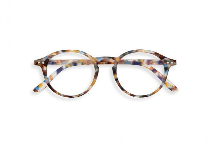 IZIPIZI Accessories IZIPIZI Blue Tortoise #D Screen Reading Glasses SCRDC18 izzi-of-baslow